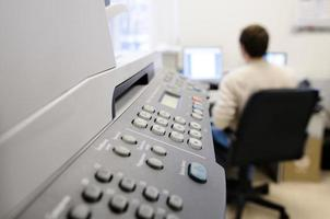 equipamento de escritório. foto