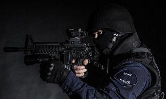 oficial da swat foto