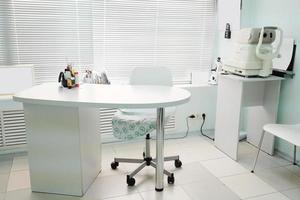 consultório do oftalmologista foto