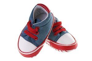 sapatos de bebê foto