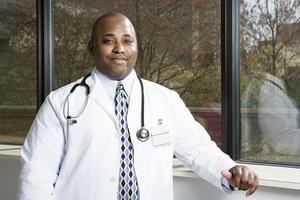 médico do hospital foto