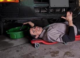 troca de óleo mecânico de automóveis