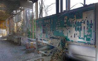 escritório abandonado