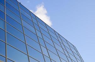 janelas do escritório foto