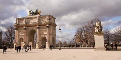 arco do triunfo, o arco do triunfo, paris foto