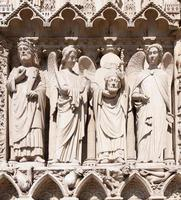 cathédrale de notre dame (paris, frança) foto