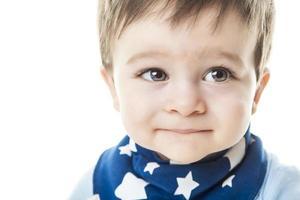 estúdio de bebê menino foto