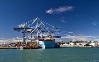 porto de auckland, nova zelândia foto