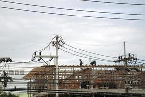 construção foto