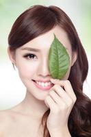 cuidados com a pele e cosméticos orgânicos foto
