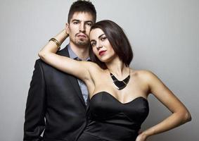 casal de negócios foto