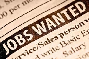 empregos procurados foto
