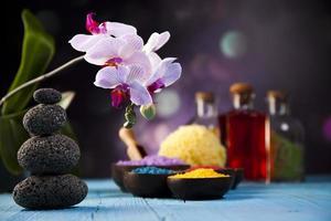 orquídeas, produtos orgânicos, spa foto