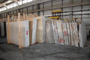 fábrica de mármore foto