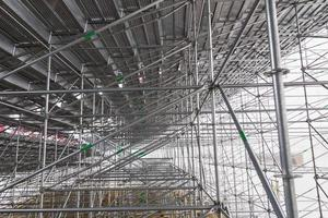 construção em alumínio foto