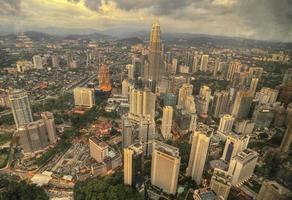 paisaje de rascacielos foto