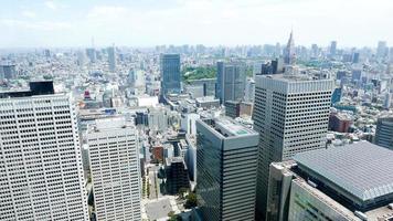 japão tóquio shinjuku paisagem urbana foto