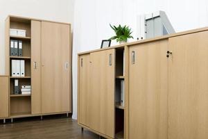 armários com pastas foto