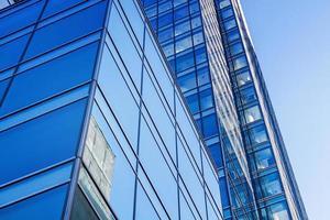 edifícios de escritórios de arquitetura moderna foto