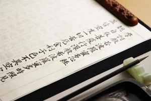 transcrição do sutra foto
