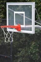 objetivo de basquete ao ar livre foto
