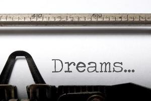 sonhos foto