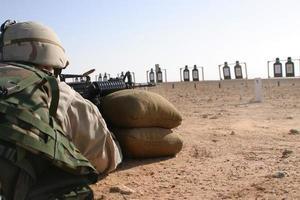 campo de tiro m4 saudita foto