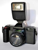 Máquina fotográfica antiga de 35mm foto