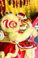 cabeça de leão chinês foto