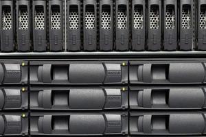 servidores de computador foto