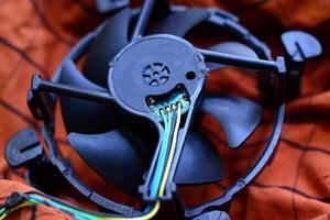 ventilador de computador foto