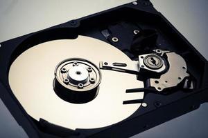 disco rígido do computador foto