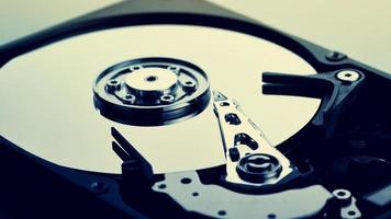 disco rígido do computador (disco rígido) foto