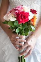 buquês de casamento foto