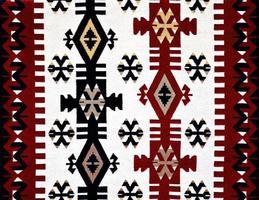 padrão de tapete turco oriental foto