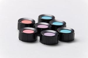 tons de cor, azul, roxo, azul, violeta, vermelho, ciano foto