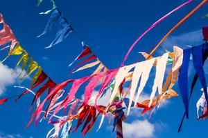 bandeiras de decoração budista