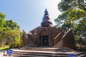 museu ajahn louis juntasaro, sakon nakhon, tailândia foto