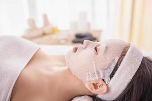 terapia de spa foto