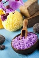 spa, produtos orgânicos foto