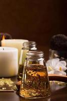 óleo de massagem spa foto