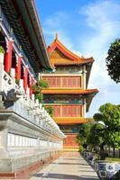templo de estilo chinês tradicional em wat leng-noei-yi