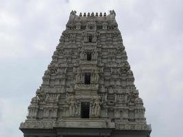 entrada do templo do senhor balaji foto