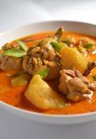 frango ao curry foto