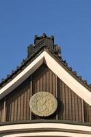 telhado japonês foto