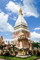 phra esse raio nu pagode em nakhon phanom, tailândia foto
