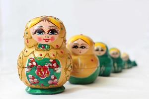 boneca matryoshka russa foto