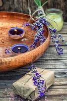 conjunto de perfumes para tratamentos de spa