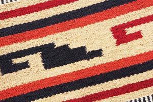 design de tecido de tapete de cobertor navajo