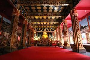 templos no país tailandês de chiang mai foto